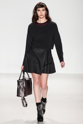 Head to toe all black fall winter collection
