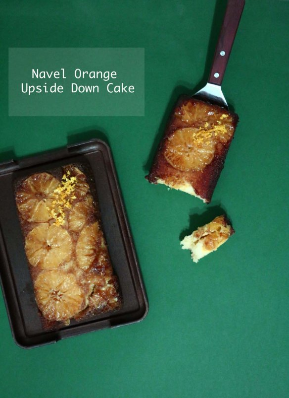 Navel Orange Upside Down Cake