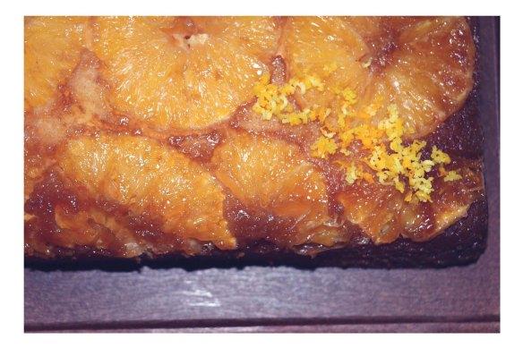 NavelUpsideDown Cake