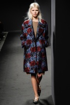 patterned glitz coat Favorite coats for this fall winter 2014 2015 ready to wear collections