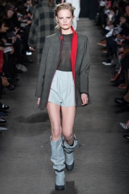 grey and red coat Favorite coats for this fall winter 2014 2015 ready to wear collections
