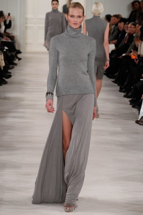 greyHead to toe one Mono color winter ready to wear