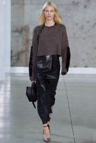 Head to toe one Mono color winter ready to wear