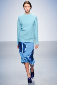 blue sparkle Winter Evening gowns