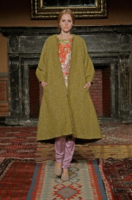 olive green knee length coat Favorite coats for this fall winter 2014 2015 ready to wear collections