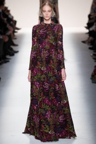 floral pattern dress Evening gowns and dresses