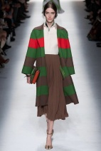 stripes green and red and brown Earth colors ready to wear