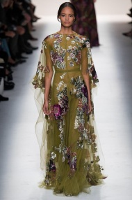 floral green dress Evening gowns and dresses