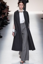 sleeveless black knee length coat Favorite coats for this fall winter 2014 2015 ready to wear collections