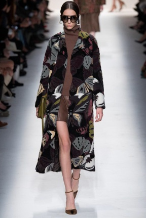 print knee length coat Favorite coats for this fall winter 2014 2015 ready to wear collections