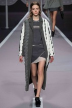 long white and grey coat Favorite coats for this fall winter 2014 2015 ready to wear collections