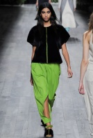 green skirt and green vest Earth colors ready to wear