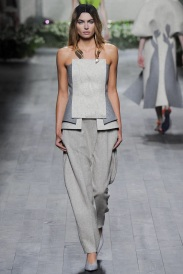 strapless grey scale outfits