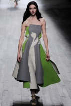 green and gray dress Evening gowns and dresses