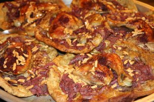 Musakhan is a traditional palestinian dish