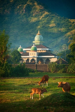 The birth date of Prophet Mohammad PBUH Eid Mawled Al Nabawi Beautiful Islamic Art and Architecture and Mosques in Bali