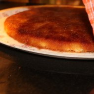 Knafeh a Palestinian dessert originally from Nablus
