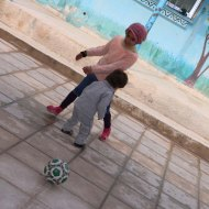 Palestinian Refugee kids Playing