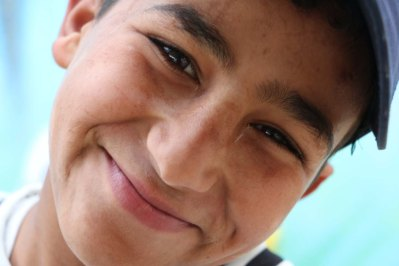 Gaza-Refugee-Camp-UN-School-Group-Photo-portrait-boy-2