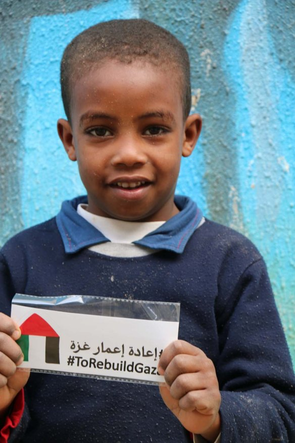 Gaza-Refugee-Camp-UN-School-Group-Photo-Portrait-Kid-boy