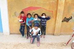 Palestinian refugee kids