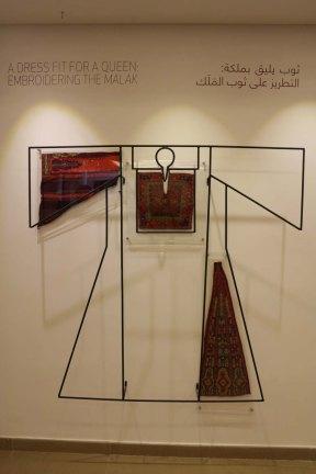 Malak is a traditional bethlehem palestinian dress