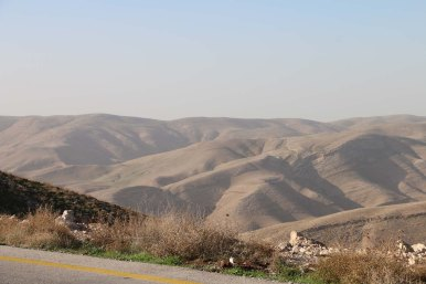 On the way to Machaerus Mukawir Jordan قلعة المشناقى الاردن