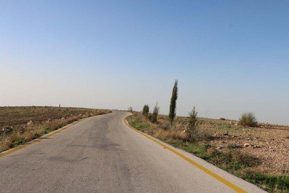 On the way to Machaerus Mukawir Jordan قلعة المشناقى الاردن