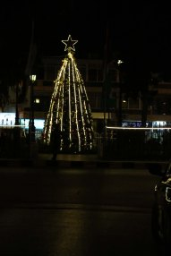 Christmas Tree and holiday in Amman Jordan