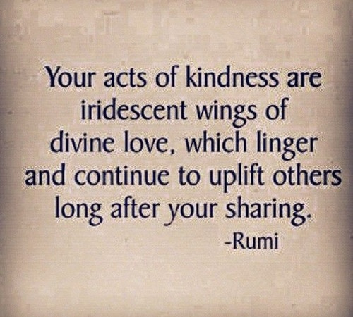 Rumi Kindness
