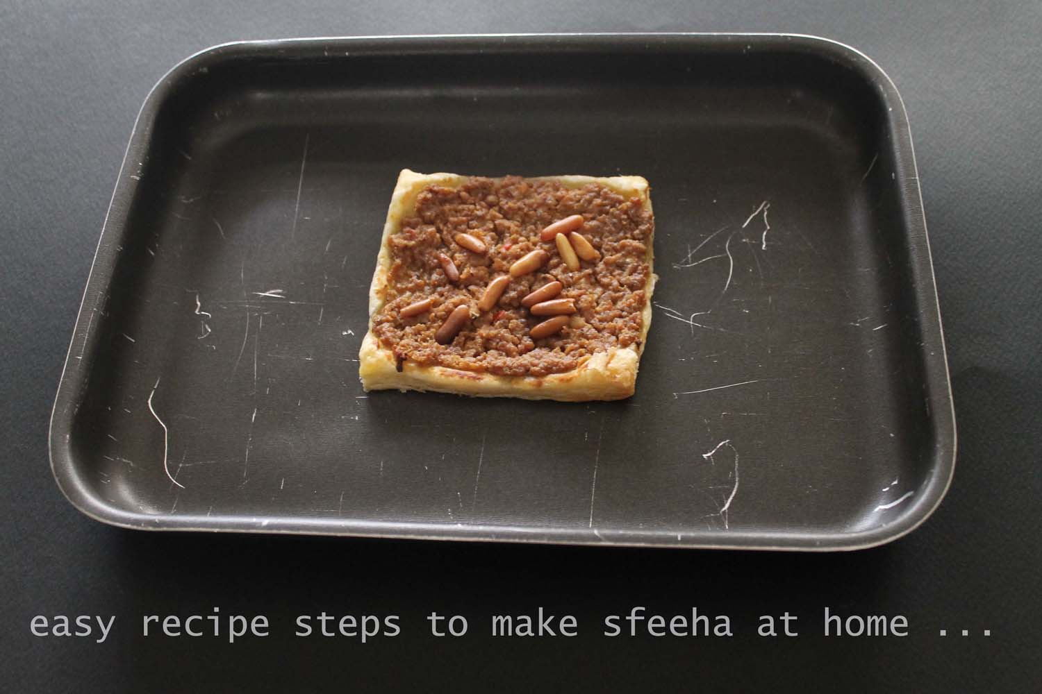 How to make Sfeeha Lahem bi Ajeen