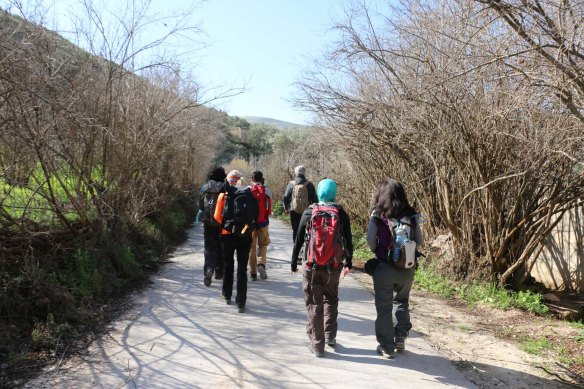Hiking and trekking in the Jordanian Valleys