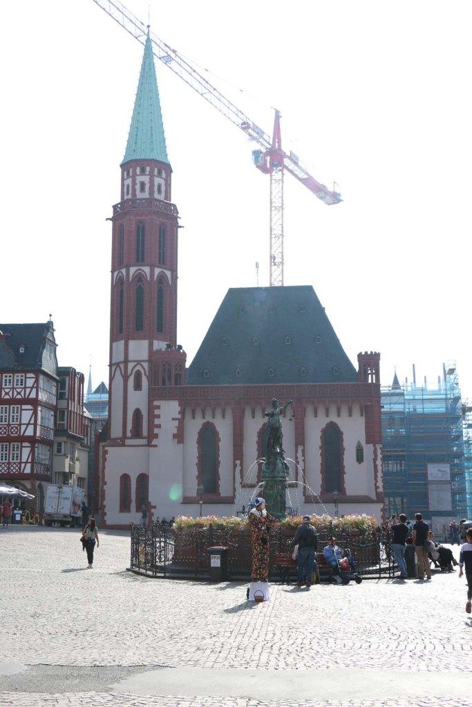 Frankfurt city of Germany Architecture