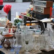 Vintage second hand Neukolln flea market in Berlin Maybachufer