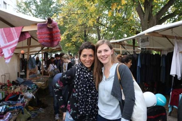 Neukolln flea market in Berlin Maybachufer