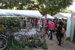 Mauerpark flea market in Prenzlauer Burg Berlin