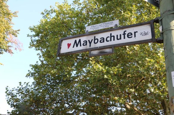 Popular neighborhood in the Neukolln district