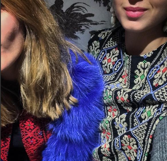 Dream team take Paris ⭐️💫✨ @poccaa 🙌🇫🇷💙❤️✌️ #mochi cape top #mochi jacket #paris#love#Tranoi#tradeshow#work#fashion#allthingsmochi