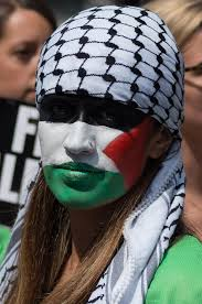 The palestinian Hattah Shmagh Kufiieh a sign of Unity a hope for eternal peace