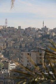 Darat Funun overlooking Amman