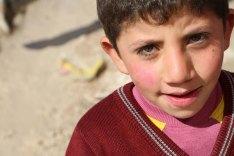 Portraits of Children from the Gaza Jarash Refugee Camp