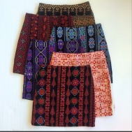 #PalestineCollection mini skirts 💋✔️ they come with a detachable fringe #1Skirt2ways ✌️ shop them online www.allthingsmochi.com #GlobalShipping #TheArtOfEmbroidery
