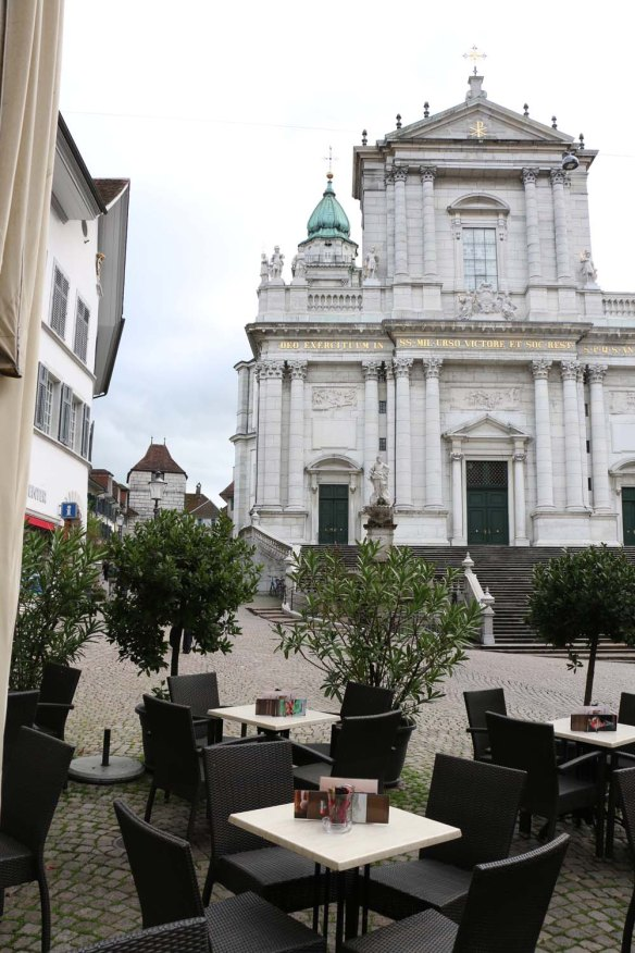 Roman Catholic Diocese of Basel in the city of Solothurn, Switzerland.