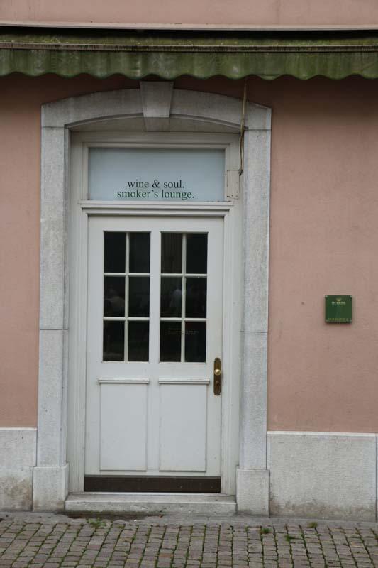 A beautiful door in Solothurn Switzerland