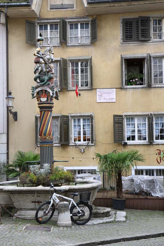 There are 11 fountains in Solothurn