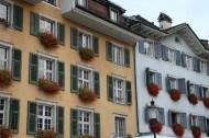 Baroque city in switzerland