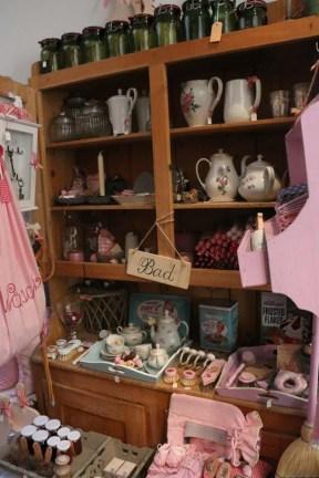 Pink cute little shop in Zurich