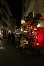 Redlight street nightlife in Zurich