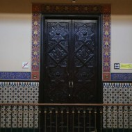 Old houses and architecture in Barcelona by Gaudi and others
