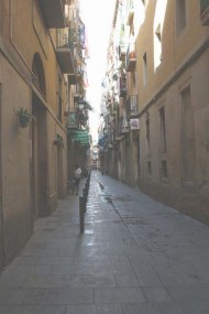 old streets of barcelona